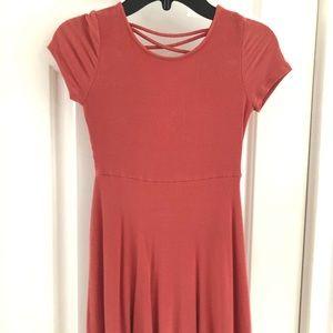 "Girls ""Agua"" by Bloomingdales Coral Dress"